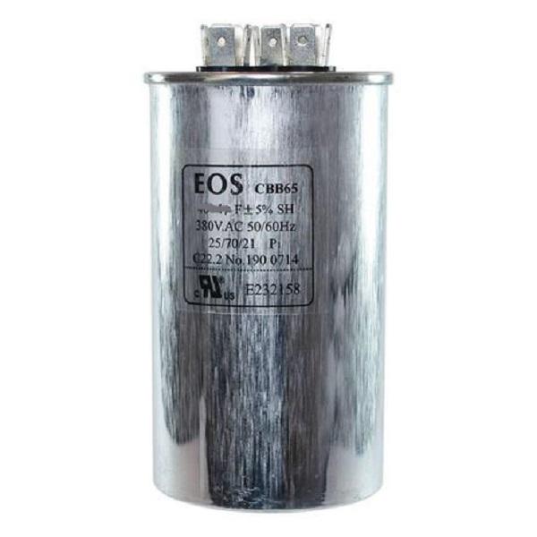 Capacitor Duplo 45+5 Mfd 380v - EOS