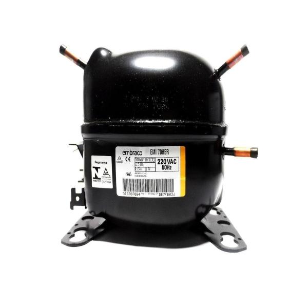 Compressor 1/5  Embraco EMI70HER 220V R134a - W10393810