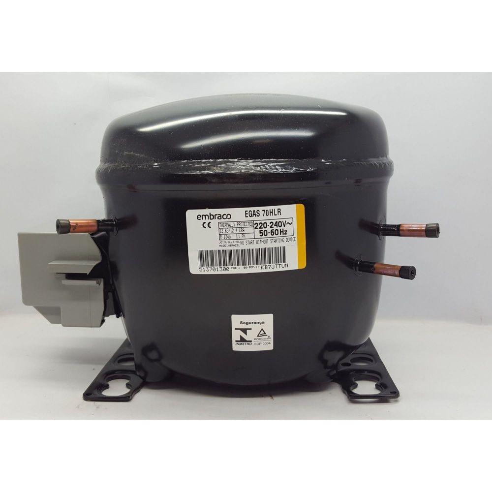 Compressor Embraco 1/5+hp Egas70hlr 220v R134 W1039384