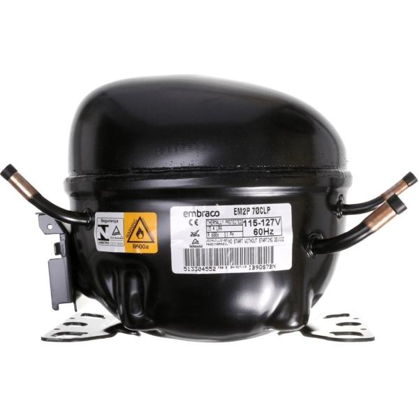 Compressor Embraco 1/5 R-600a 220v EM2P70CLP - W10769940