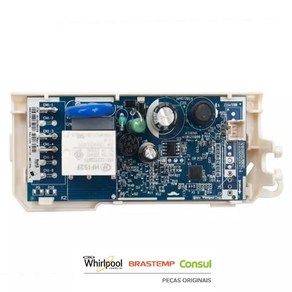 Conjunto Controle Eletrônico Athena  Refrigerador Consul Bivolt Original - W10678923