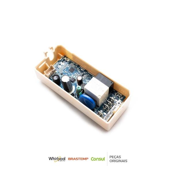 Conjunto Controle Eletrônico Refrigerador Brastemp & Consul Bivolt Original  - W10678917  W11345881