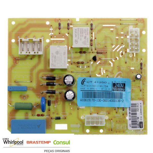 Controle Eletrônico  Brastemp Original 220v  - W10619170 | W10662208 | 326066834