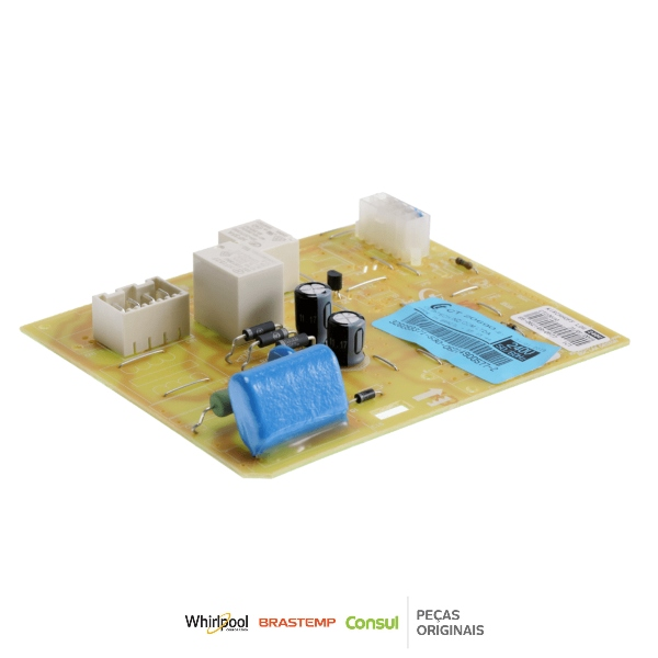 Controle Eletrônico Refrigerador Brastemp & Consul 220V Original - 326059371
