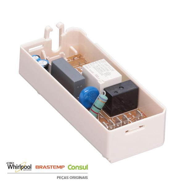 Controle Eletrônico Refrigerador Brastemp & Consul Original 220v - W10269365