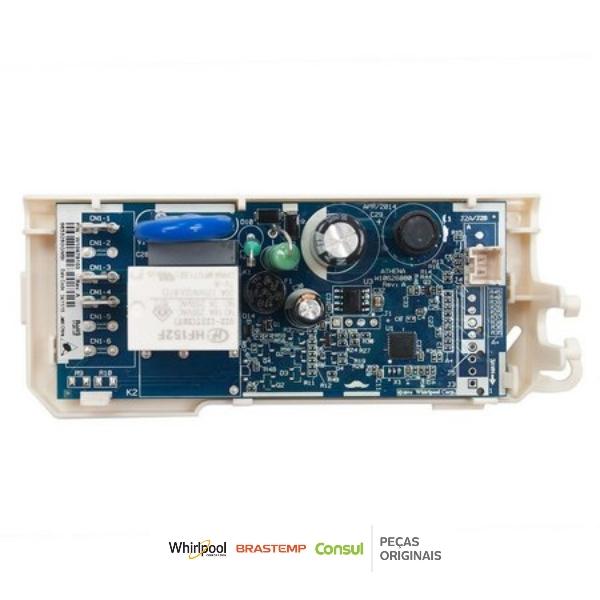 Controle Eletrônico Refrigerador Consul Original Bivolt - W10780252