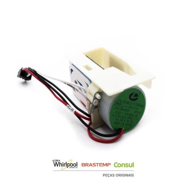 Difusor Damper Eletrônico 220v Brastemp - W10710771
