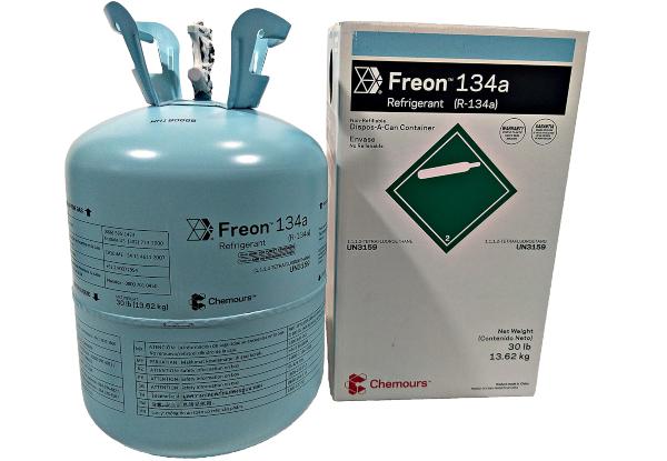 Gas Refrigerante Chemours Dupont R134a 13,6kg