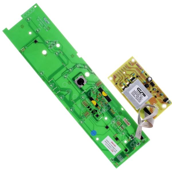 Kit Placa Potência e Interface Compatível com Lavadora Brastemp 326064442   W10301604 - CP1042