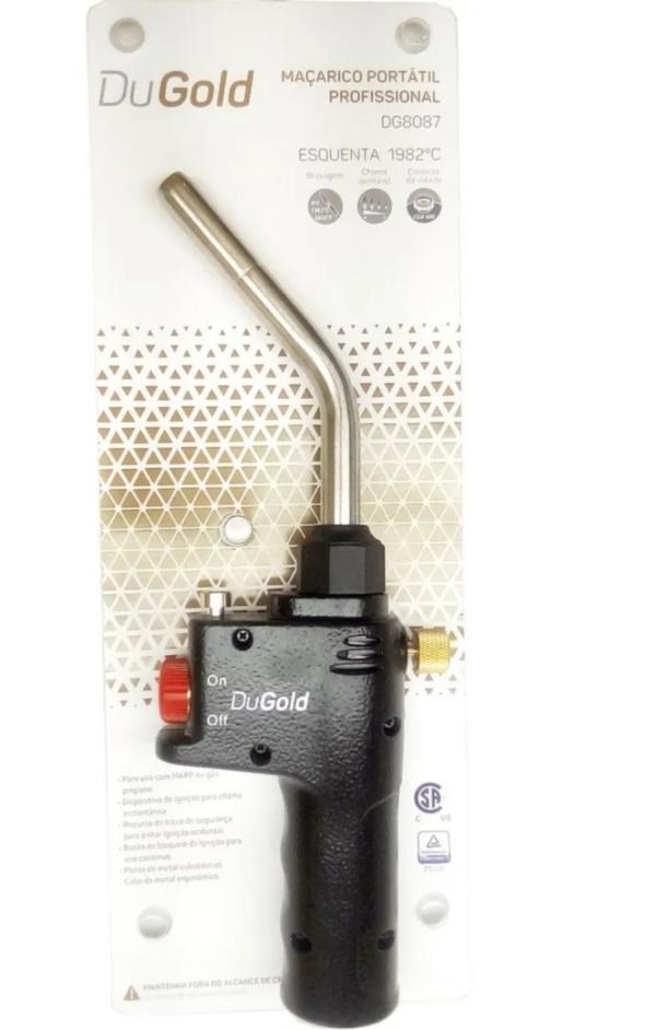 Maçarico Portátil Automático Dugold - Dg8087