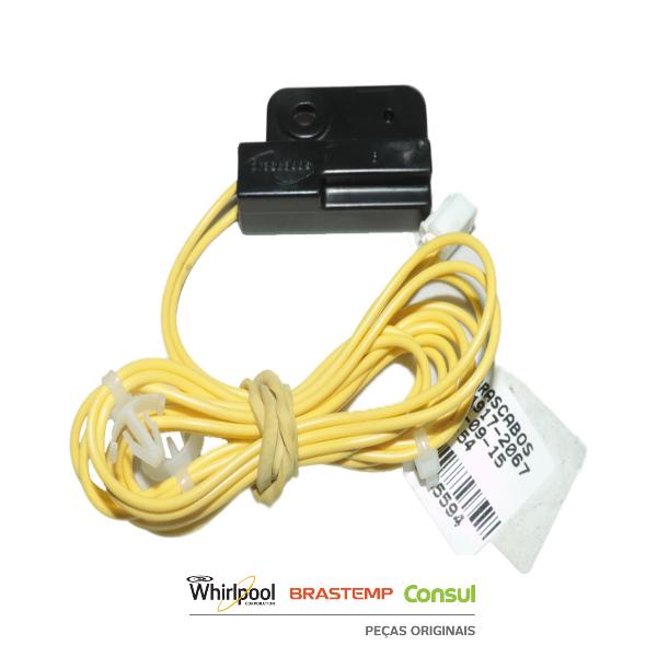 Microchave Reed Switch para Máquina de Lavar -  W10355594