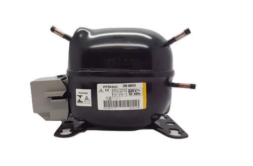Motor Compressor Embraco 1/6 Emi60her R134a 220v-W10393809