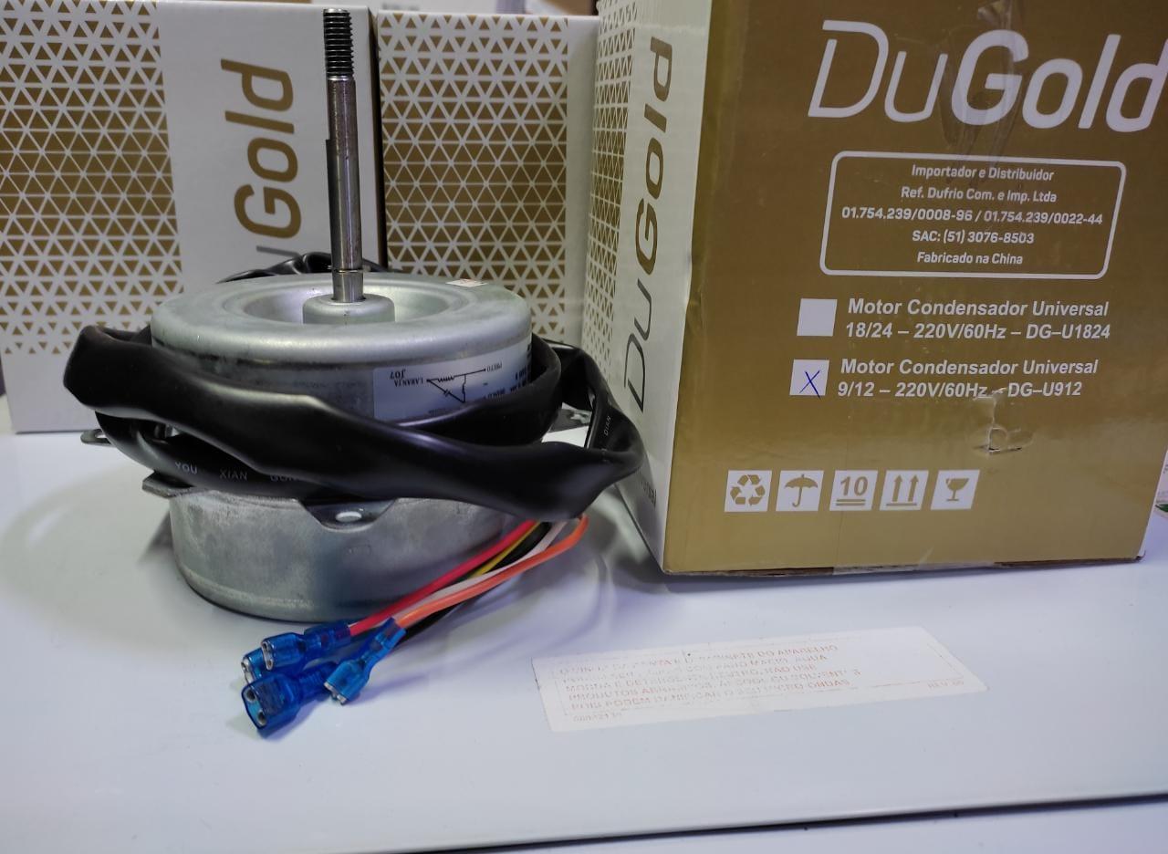 Motor Condensadora Universal  9000 a 12000 Btus - 220v/60hz - Dulgod DG-U912