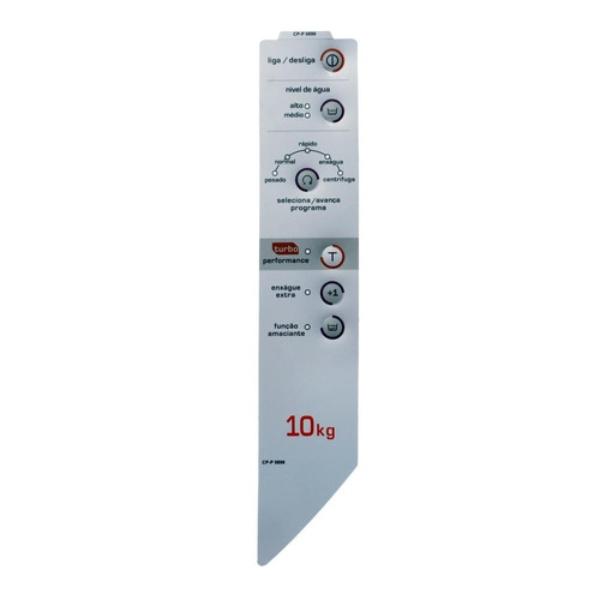 Painel Decorativo Compatível Lavadora Brastemp BWC10A - CP P0898