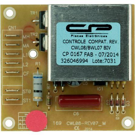 Placa Controle de Reversão Lavadora Brastemp & Consul 326046994 | 326046995 - CP0167