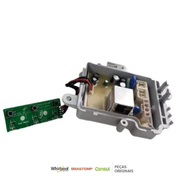 Placa de Controle Lavadora Consul 110v Original - W11387505