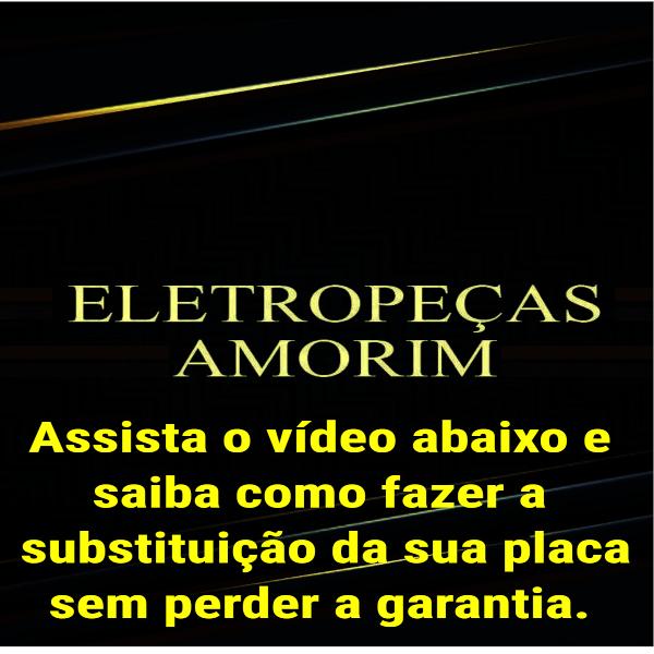 Placa de Potência Eletrônica Lavadora Brastemp 220v Original - W10863659