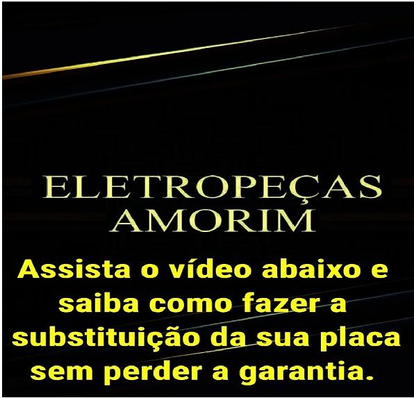 Placa Eletrônica Compatível com  Lavadora Electrolux Bivolt - 64502027 - Cp1239