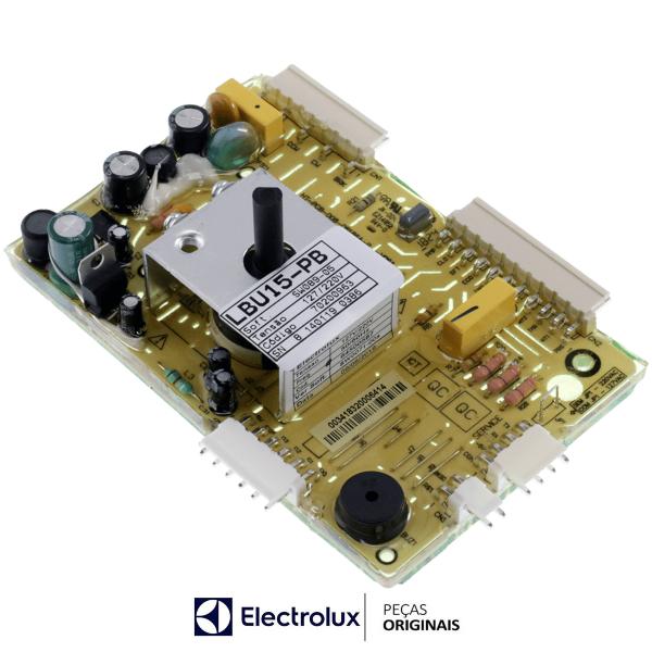 Placa Potência Compatível com a Lavadora Electrolux Original  Bivolt - 70200963