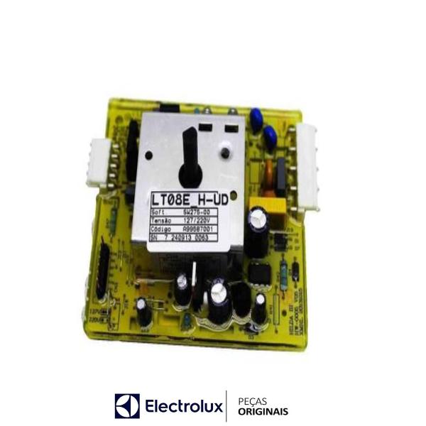 Placa Potência Compatível com a Lavadora Electrolux Original Bivolt - A99587001