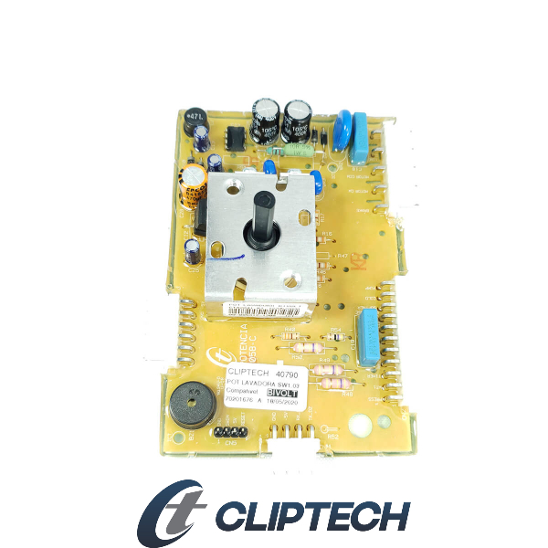 Placa Eletrônica Electrolux Bivolt Cliptech - 70201676