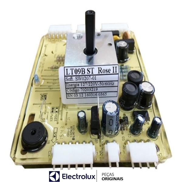 Placa Potência Compatível com a Lavadora Electrolux Original Bivolt - 70203219