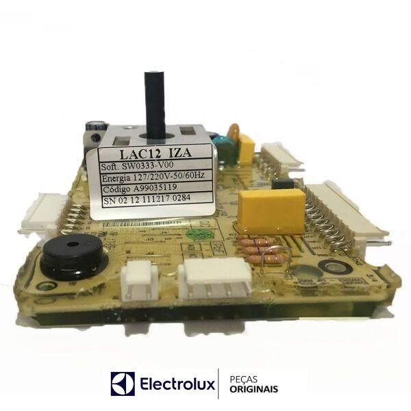 Placa Potência Compatível com a Lavadora Electrolux Original Bivolt - A99035119
