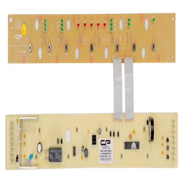 Placa Eletrônica Lavadora Brastemp com Aquecimento Bivolt - 326010252 - CP0243