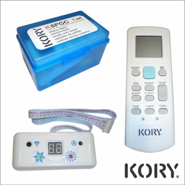 Placa Eletrônica Universal para Ar Condicionado Split - Kory