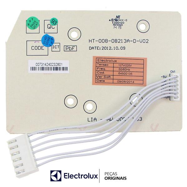 Placa Interface Lavadora Electrolux Bivolt Original -  - 64500135