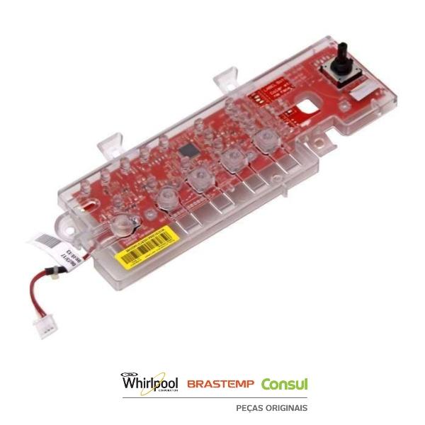 Placa Interface para Lavadora Consul Bivolt Original  - W10751205