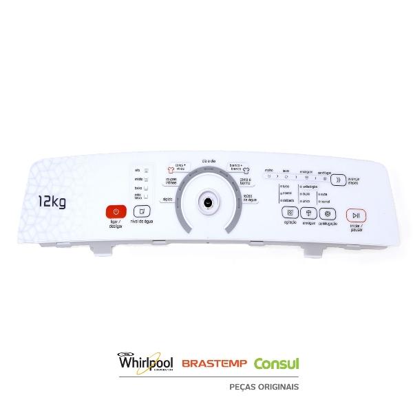 Placa Interface e Console Lavadora Brastemp Bivolt Original - W10800267