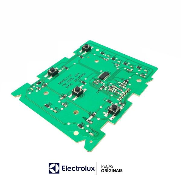 Placa Interface Electrolux Led Azul Bivolt Original - 64503062