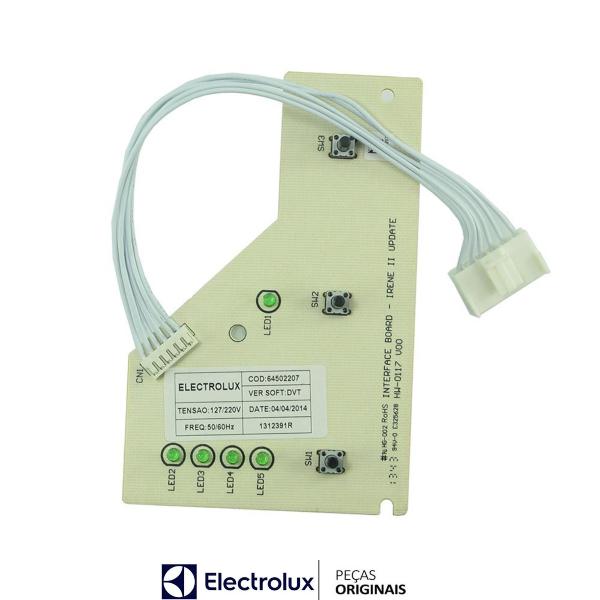 Placa Interface Electrolux Bivolt Original - 64502207