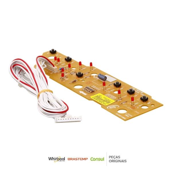 Placa Interface Lavadora Brastemp Bivolt Original  - W10605809 | W10605794