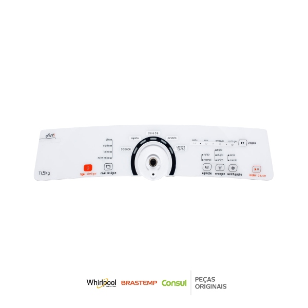 Placa Interface Lavadora Brastemp Bivolt Original - W10706120