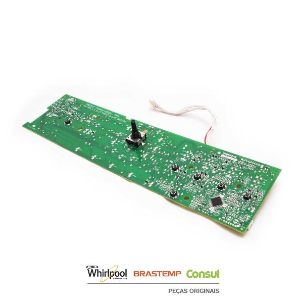 Placa Interface Lavadora Brastemp Bivolt Original - W10755942
