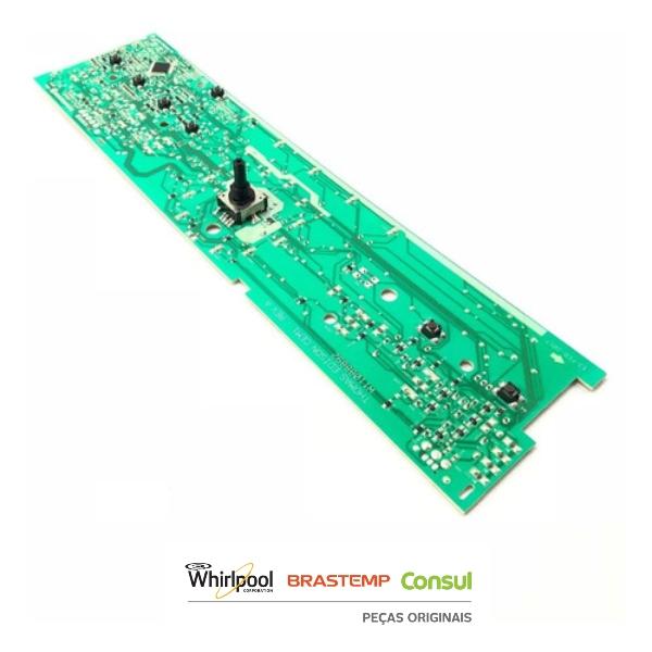Placa Interface Lavadora Brastemp Bivolt  - W10711361