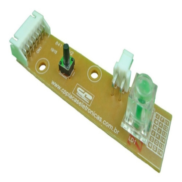 Placa Interface Lavadora Electrolux  64800629 - CP 0992