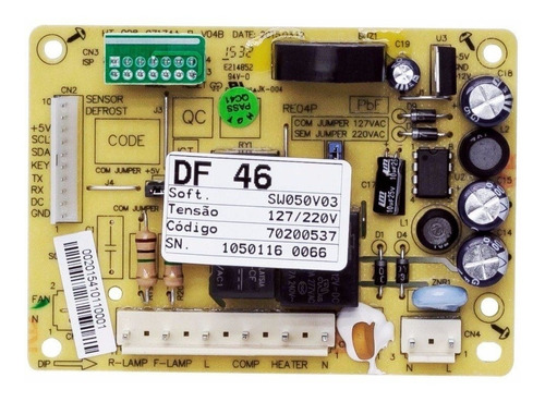 Placa Módulo Geladeira Electrolux - 70200537