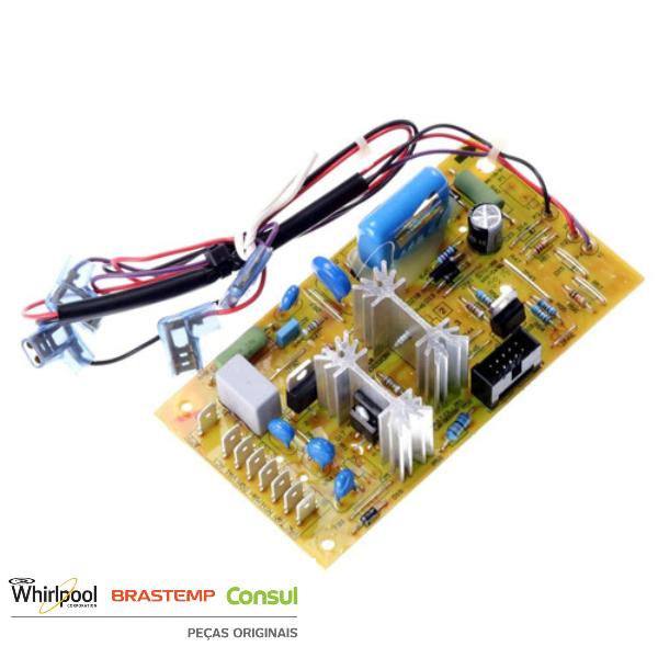 Placa Potência Compatível com a Lavadora Brastemp 220v Original  - W10185623