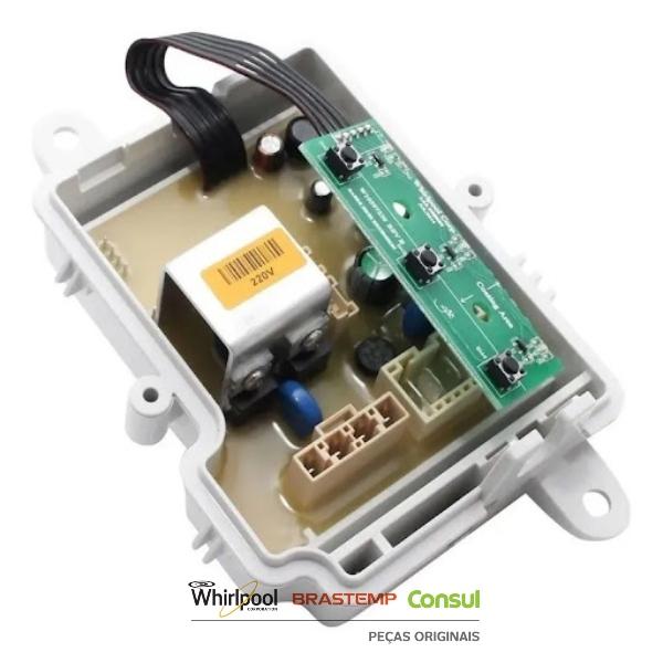 Placa Potência Compatível com a Lavadora Brastemp 220v Original - W10827973