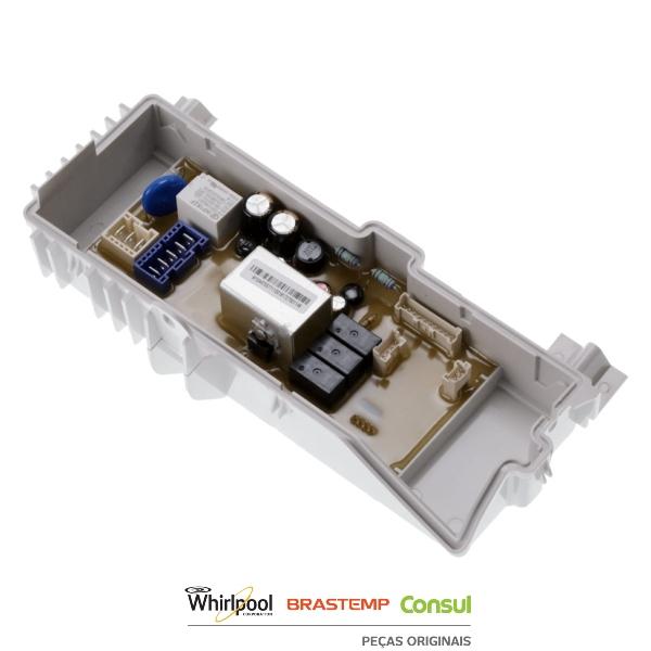 Placa Potência Compatível com a Lavadora Brastemp Original 220v - W10447057