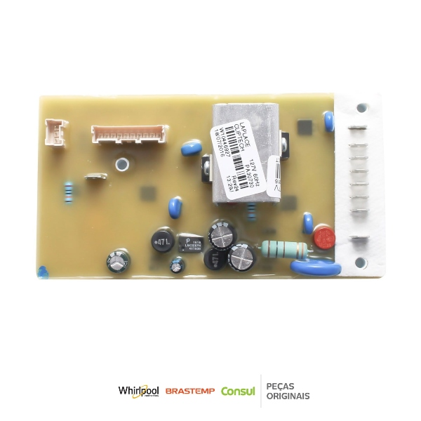 Placa Potência Compatível com a Lavadora Consul 110v Original - W10446927