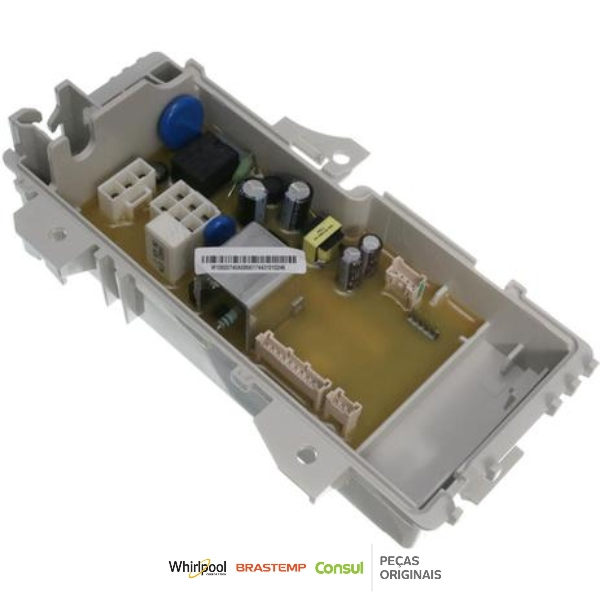 Placa Potência Compatível com a Lavadora Consul 220v Original - W10920740