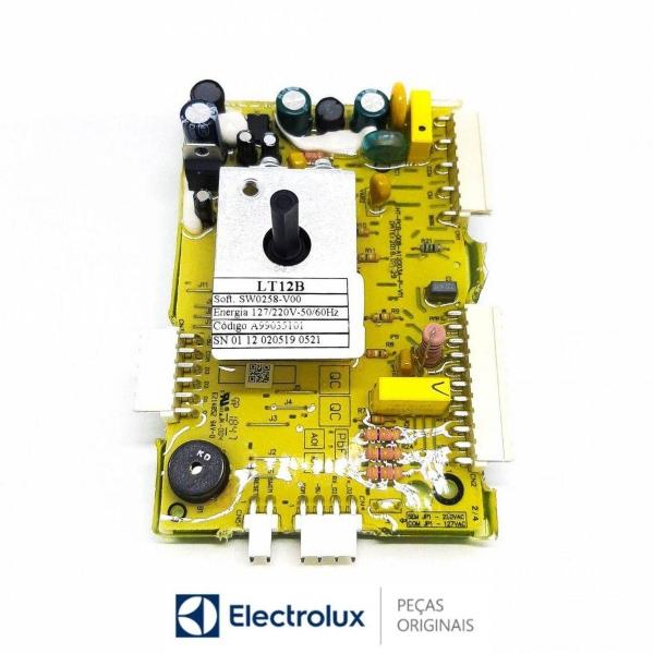 Placa Potência Compatível com a Lavadora Electrolux Bivolt Original- A99035101