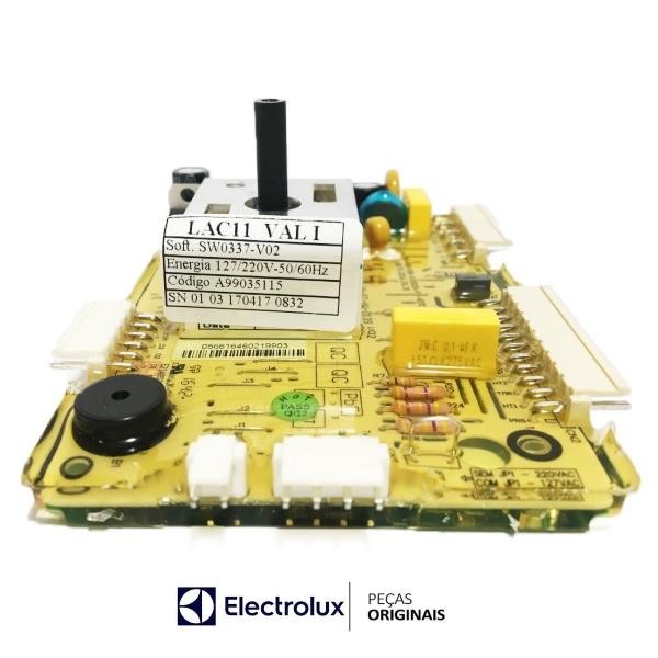 Placa Potência Compatível com a Lavadora Electrolux Bivolt Original  - A99035115