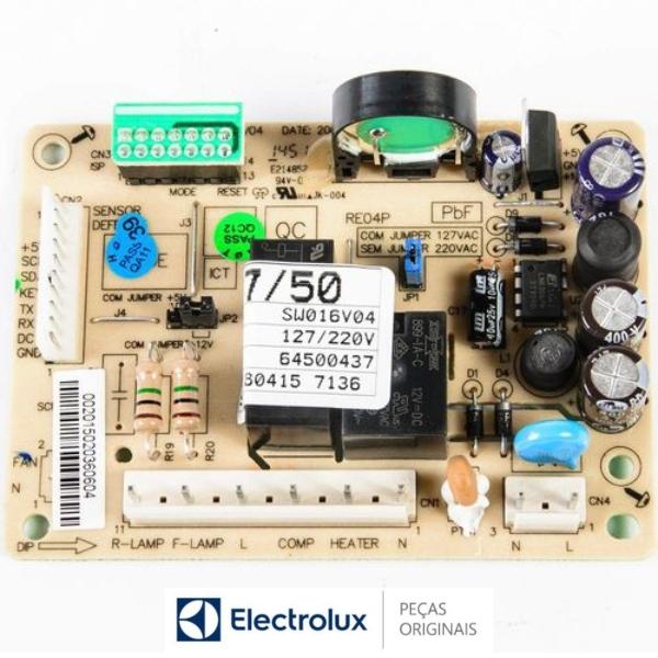 Placa Potência Compatível com a Refrigerador Electrolux Original Bivolt - 64500437