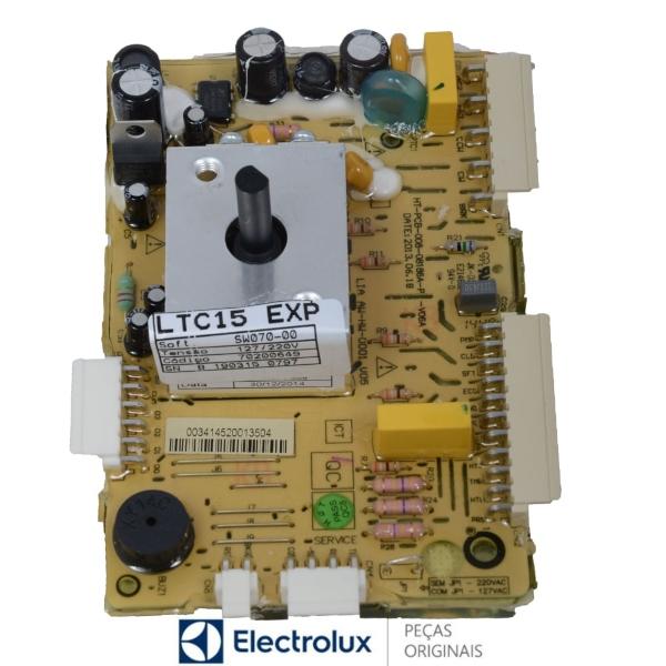 Placa Potência Compatível com a Lavadora Electrolux Original Bivolt - 70200649