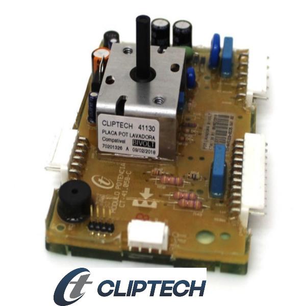Placa Potência Compatível com a Lavadora Electrolux Cliptech Bivolt - 70201326 | 64502496